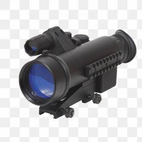 Image-stabilized Binoculars - Telescopic Sight Night Vision Optics Hunting Binoculars PNG