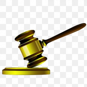 Legal Hammer - Judge Judgment Clip Art PNG