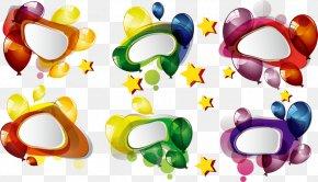 Adorn Bubble - Vector Graphics Speech Balloon Image Design PNG