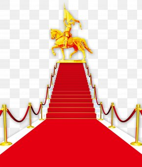 Hero Ladder Red Carpet - Table Carpet Stairs PNG