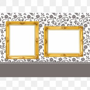 Korea Retro - Picture Frames Wedding Gift Photo Booth First Communion PNG