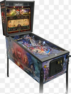 Pirates Of The Caribbean - Pirates Of The Caribbean Jersey Jack Pinball Stern Video Game PNG