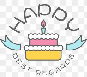 Happy Birthday Cake Label - Birthday Cake Happy Birthday To You Clip Art PNG