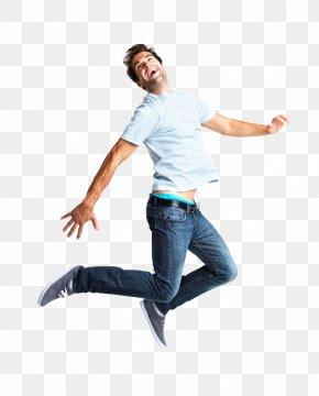 Jump Up Man - Jumping PNG