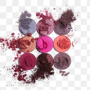 Makeup Eye Shadow - Eye Shadow Cosmetics Rouge Face Powder Foundation PNG