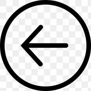 Left Arrow - Cercle Canadien-Montreal Osler's Web Typeface Information Font PNG