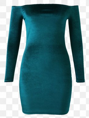 Dress Shirt - Dress Turquoise Electric Blue Aqua Teal PNG