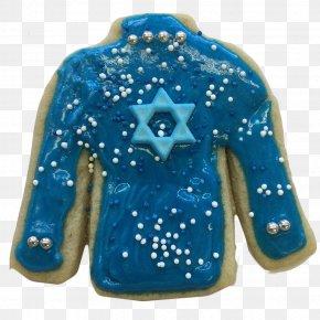 Jewish Holidays - Electric Blue T-shirt Cobalt Blue Turquoise Aqua PNG