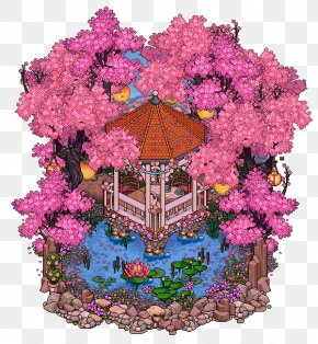 Valentine's Day Gorgeous Flowers Background - Habbo YouTube Floral Design DeviantArt Pixel Art PNG