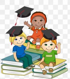 Little Scholar Cliparts - Student School Child Clip Art PNG
