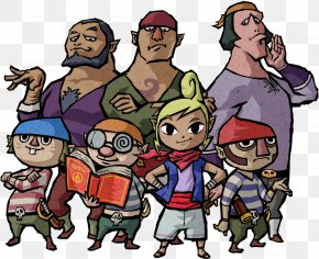 Pirates - The Legend Of Zelda: The Wind Waker Princess Zelda Ganon The Legend Of Zelda: Breath Of The Wild Video Game PNG