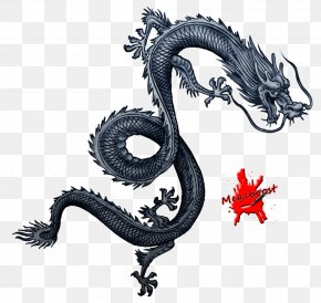 Chinese Dragon - Sleeping Dogs Tattoo Artist Chinese Art Video Game PNG