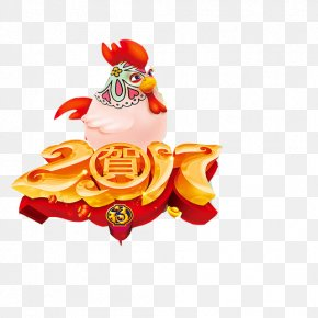 Year Of The Rooster Chinese New Year Picture Material - Chinese New Year Lunar New Year Laba Festival PNG