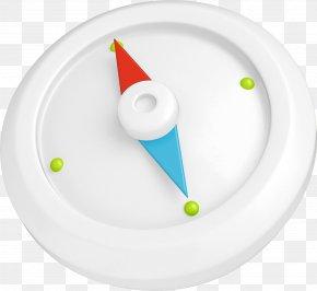 Color Compass - Compass Color White PNG