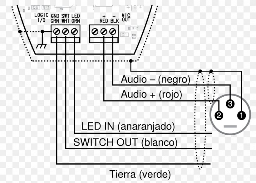 Xlr Microphone Wiring Diagram | Wiring Diagram on