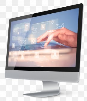 Sales Person - Computer Monitors Personal Computer Output Device Flat Panel Display Desktop Computers PNG