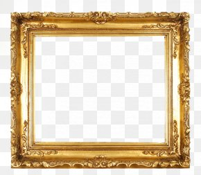 Gold Frame - Picture Frame Photography Download PNG