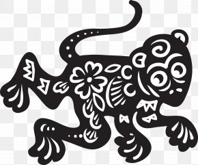 Chinese Zodiac - Chinese Zodiac Monkey Chinese New Year Clip Art PNG