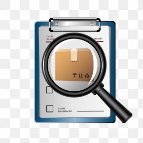 Magnifying Glass Order Vector Element - Euclidean Vector Magnifying Glass Icon PNG