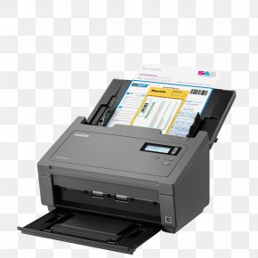 Scanner - Image Scanner Paper Brother Industries Document Office Supplies PNG