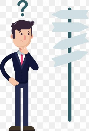 Confused Crossroads - SSC Combined Graduate Level Examination Clip Art PNG