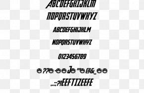 Avengeance - Open-source Unicode Typefaces Freeware Font Family Logo Font PNG