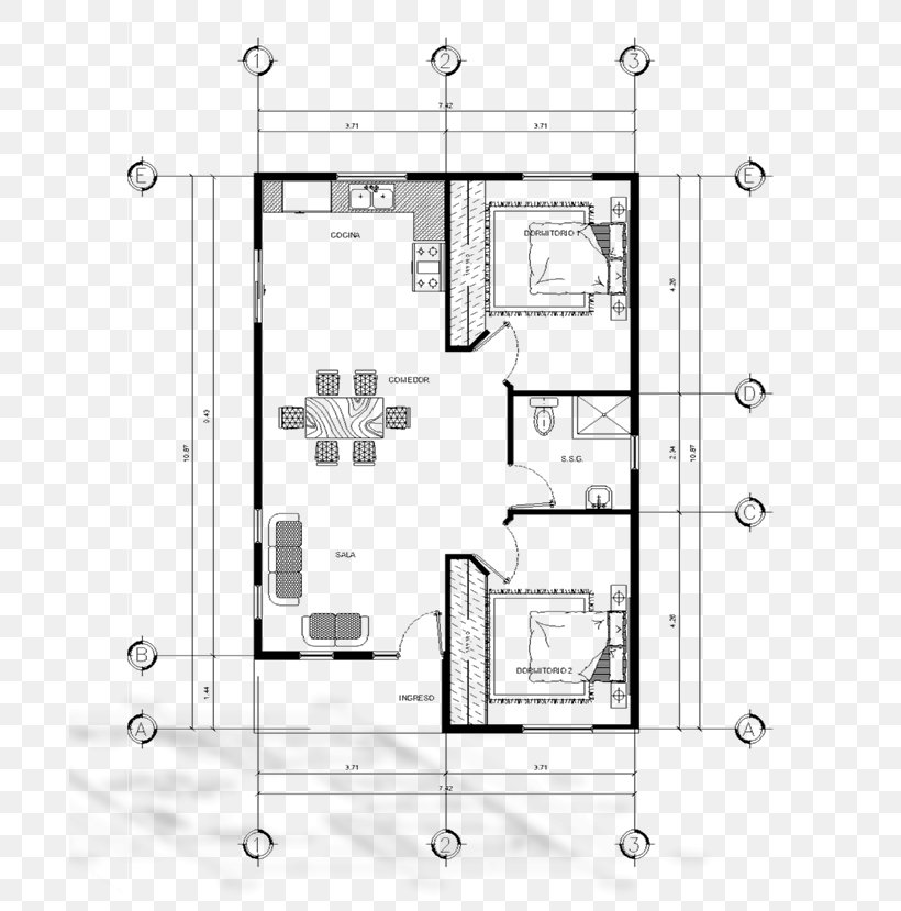Coban Floor Plan Architecture Architectural Plan Png 694x829px