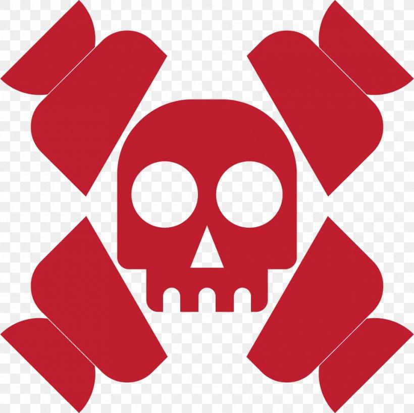 Head Skull Skeleton Illustration, PNG, 960x958px, Head, Cranial Nerves, Flat Design, Red, Skeleton Download Free