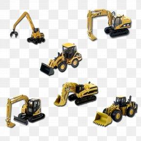 3d Model Excavator - Komatsu Limited Heavy Equipment Excavator 3D Computer Graphics PNG