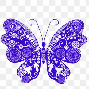 Creative Butterfly - Butterfly Royalty-free Euclidean Vector Clip Art PNG