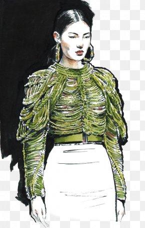 Fashion Model - Fashion Illustration Model Designer Illustration PNG