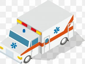 Ambulance Vector - Ambulance Euclidean Vector Car PNG
