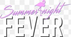 Summer Party Logo - Brand Human Behavior Clip Art PNG