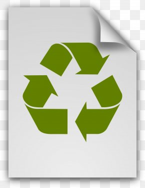 Recycling - Paper Recycling Symbol Material Plastic PNG