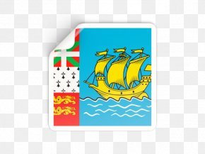 Flag - Saint-Pierre Flag Of Saint Pierre And Miquelon Miquelon Island Flag Of Saint Vincent And The Grenadines PNG
