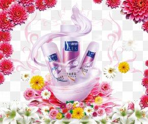Shulei Shampoo Poster - Shampoo Cosmetics Advertising Poster Shower Gel PNG