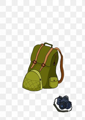 Backpack - Backpack Hiking Camping Clip Art PNG
