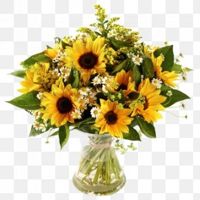 Flower - Common Sunflower Flower Bouquet Cut Flowers Floristry PNG