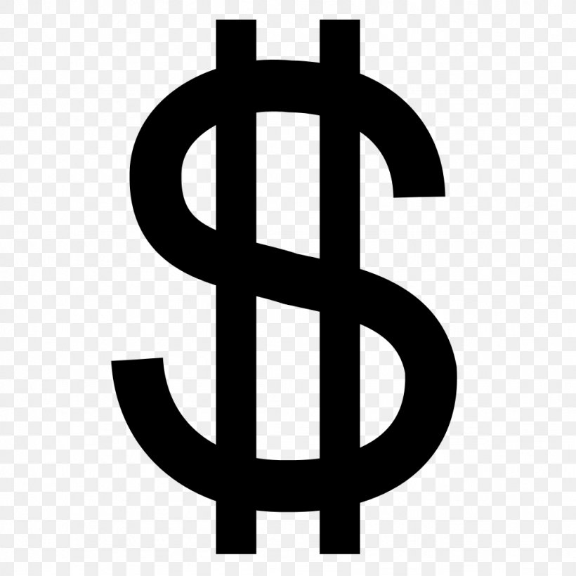 Dollar Sign Clip Art, PNG, 1024x1024px, Dollar Sign, Australian Dollar, Brand, Currency, Currency Symbol Download Free