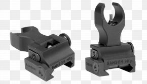 Front Sight - Iron Sights Picatinny Rail Firearm M4 Carbine PNG