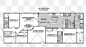 House - House Floor Plan Prefabricated Home Bedroom Manufactured Housing PNG