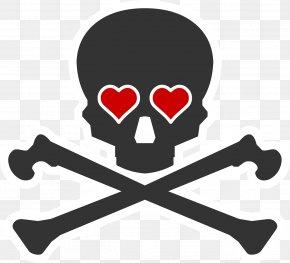 Skull - Skull And Crossbones Human Skull Symbolism Clip Art Image PNG