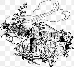 House - Tree House Drawing PNG