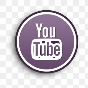 Magenta Purple - Youtube Logotype Icon Social Icon Social Icons Rounded Icon PNG