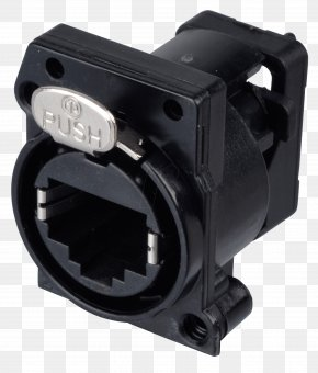 Angle - 8P8C Angle Registered Jack V-block Technology PNG
