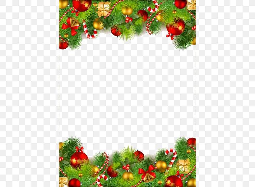 Christmas Ornament Santa Claus Clip Art, PNG, 440x600px, Christmas, Aquifoliaceae, Branch, Christmas And Holiday Season, Christmas Card Download Free