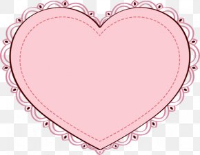 Pink Heart Clipart - Heart Pink Valentines Day Clip Art PNG