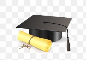 Cap - Square Academic Cap Graduation Ceremony Diploma Clip Art PNG