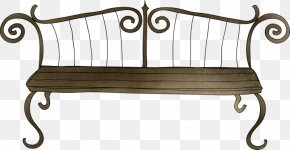 Park Chair - Bench Table Chair PNG