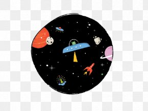 Cartoon Spaceship - Spacecraft Outer Space Universe PNG